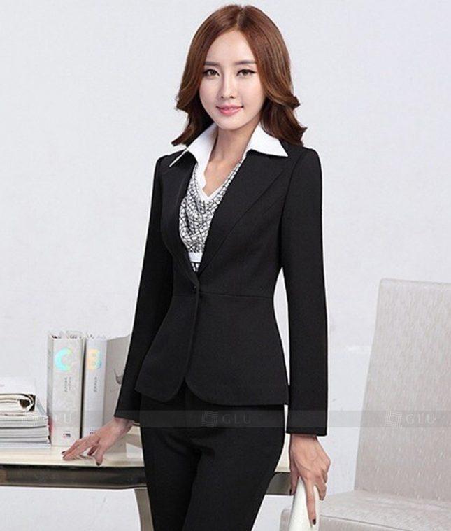 Ao Vest Dong Phuc Cong So GLU 328 áo sơ mi nữ đồng phục công sở
