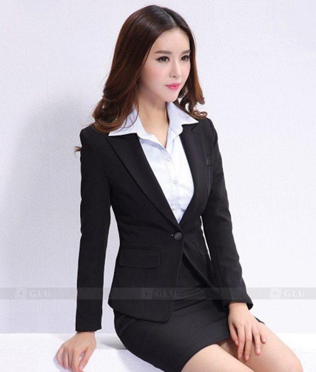 Ao Vest Dong Phuc Cong So GLU 329 áo sơ mi nữ đồng phục công sở