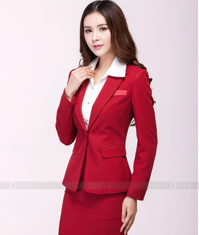 Ao Vest Dong Phuc Cong So GLU 334 áo sơ mi nữ đồng phục công sở