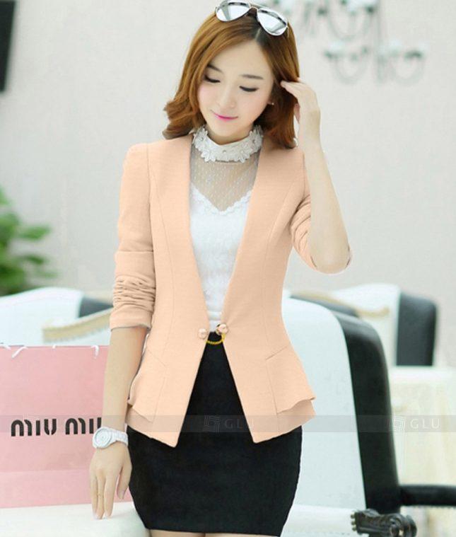 Ao Vest Dong Phuc Cong So GLU 337 áo sơ mi nữ đồng phục công sở