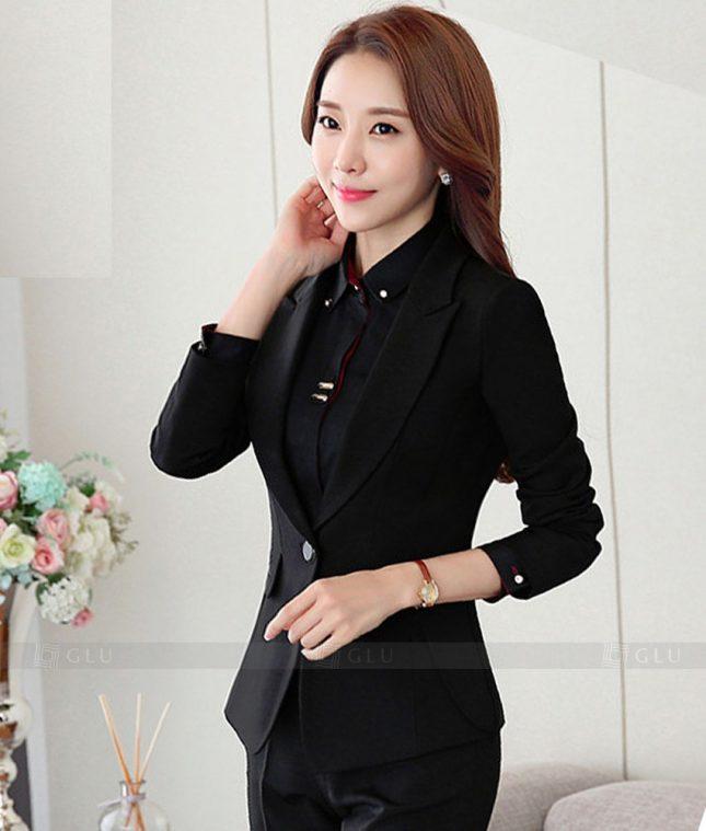 Ao Vest Dong Phuc Cong So GLU 338 áo sơ mi nữ đồng phục công sở