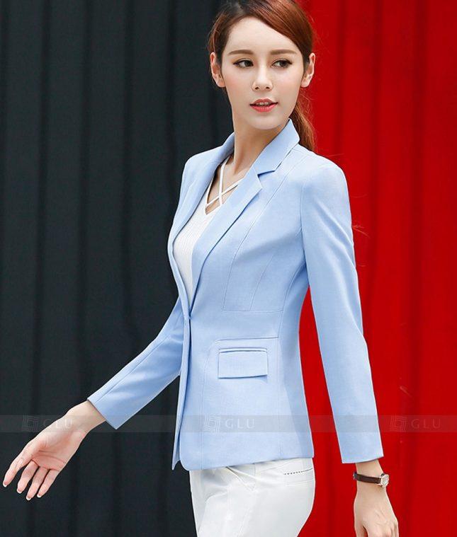 Ao Vest Dong Phuc Cong So GLU 339 áo sơ mi nữ đồng phục công sở