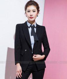 Ao Vest Dong Phuc Cong So GLU 352 Đồng Phục Công Sở