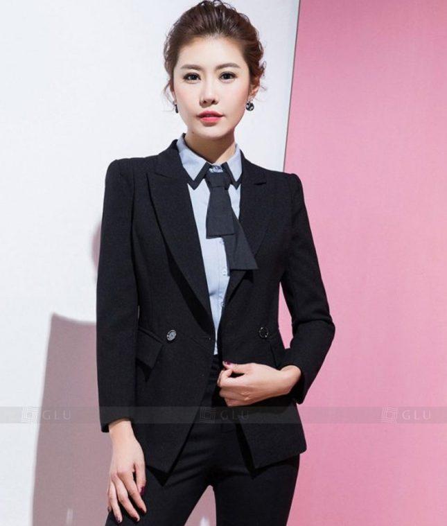 Ao Vest Dong Phuc Cong So GLU 352 áo sơ mi nữ đồng phục công sở