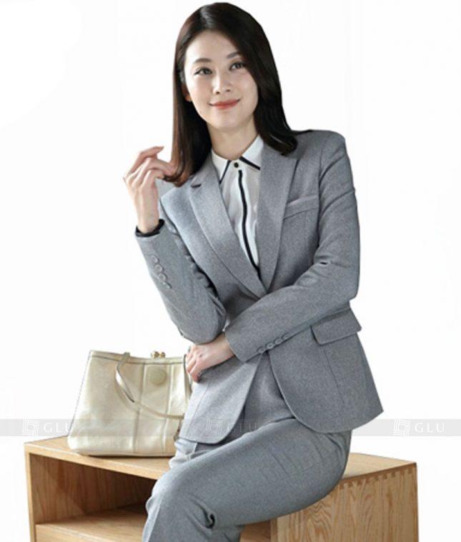 Ao Vest Dong Phuc Cong So GLU 353 áo sơ mi nữ đồng phục công sở