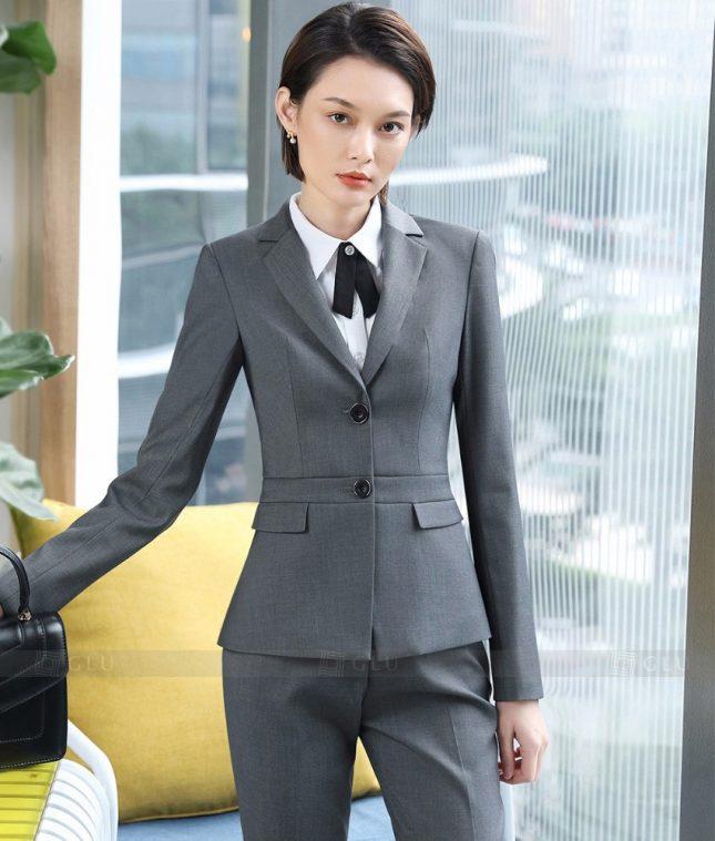 Ao Vest Dong Phuc Cong So GLU 354 áo sơ mi nữ đồng phục công sở