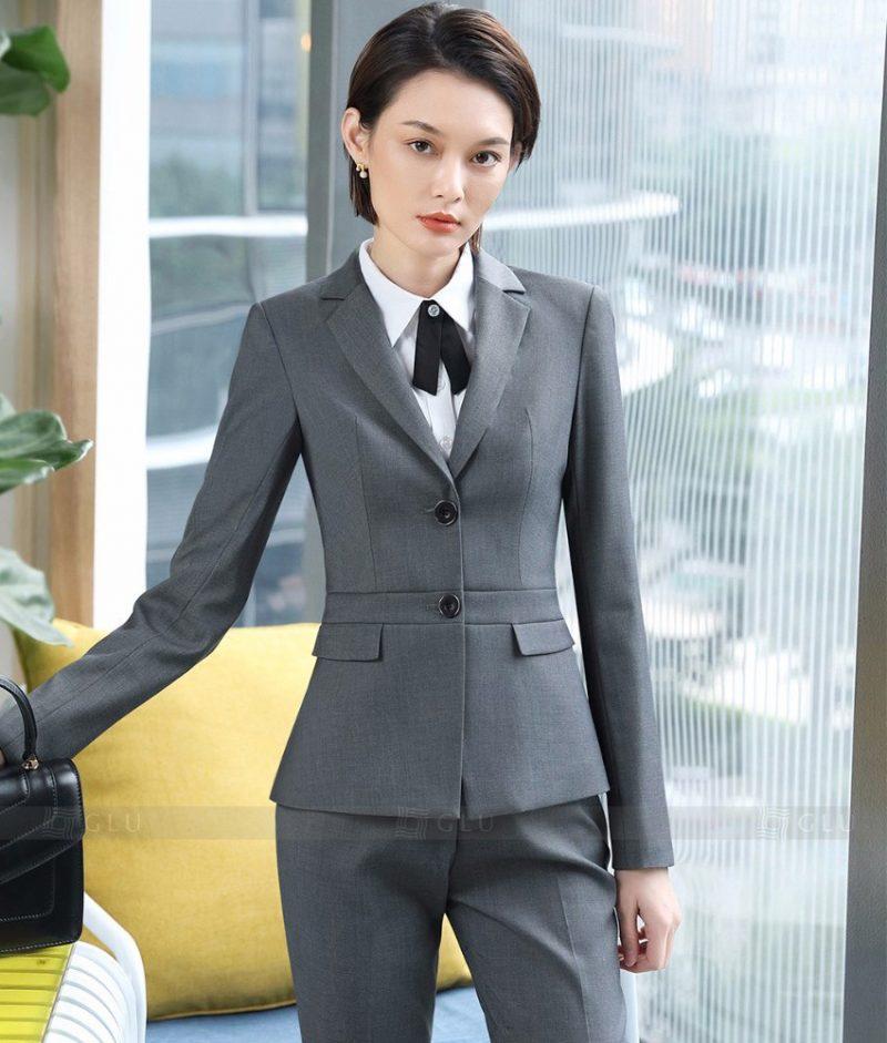 Ao Vest Dong Phuc Cong So GLU 354