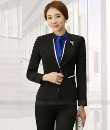 Ao Vest Dong Phuc Cong So GLU 355 Đồng Phục Công Sở