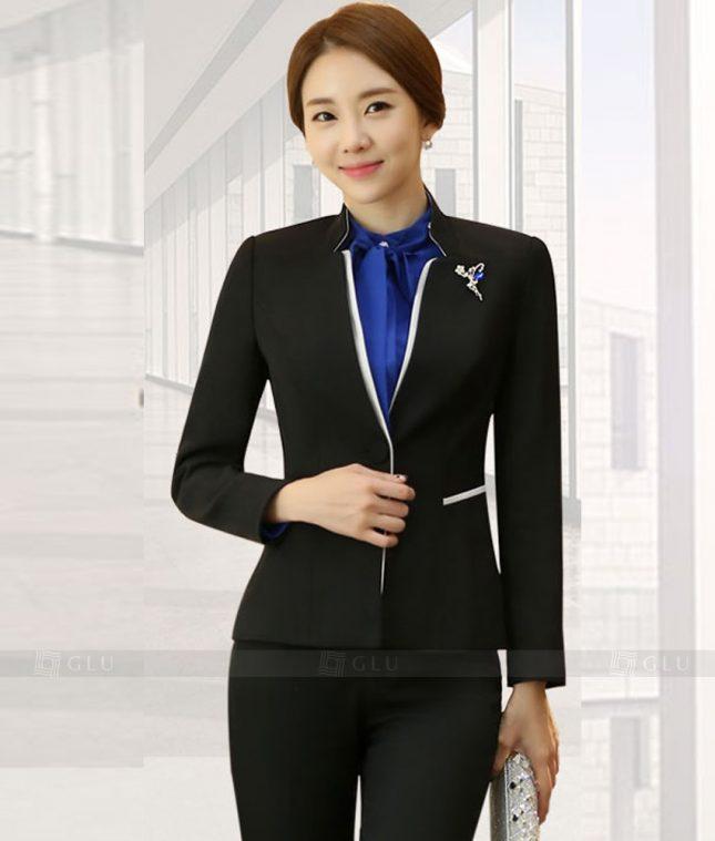 Ao Vest Dong Phuc Cong So GLU 355 áo sơ mi nữ đồng phục công sở