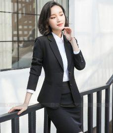 Ao Vest Dong Phuc Cong So GLU 357 may áo vest đồng phục