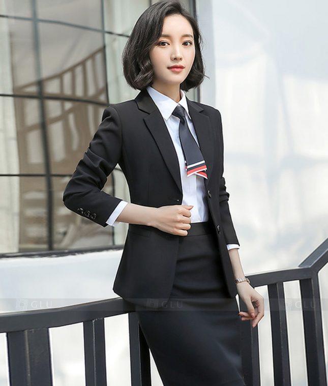 Ao Vest Dong Phuc Cong So GLU 359 áo sơ mi nữ đồng phục công sở
