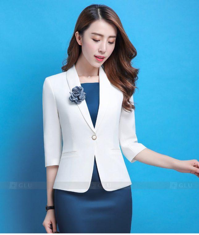 Ao Vest Dong Phuc Cong So GLU 360 áo sơ mi nữ đồng phục công sở