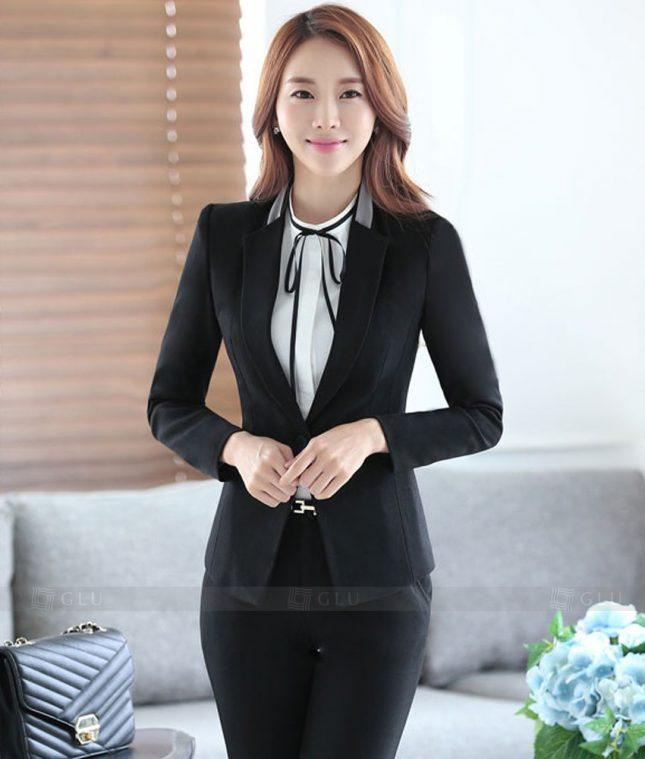 Ao Vest Dong Phuc Cong So GLU 361 áo sơ mi nữ đồng phục công sở
