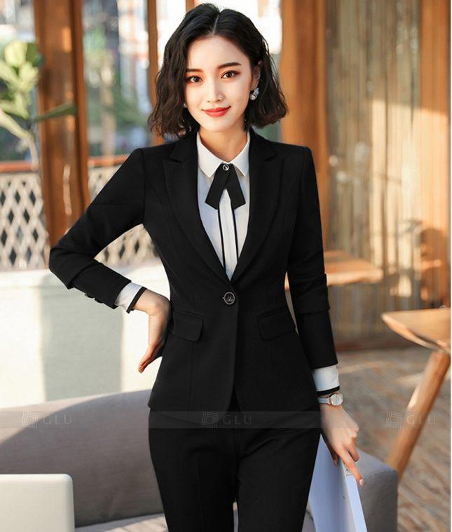 Ao Vest Dong Phuc Cong So GLU 363 áo sơ mi nữ đồng phục công sở