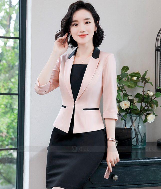 Ao Vest Dong Phuc Cong So GLU 365 áo sơ mi nữ đồng phục công sở
