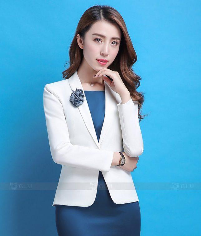 Ao Vest Dong Phuc Cong So GLU 367 áo sơ mi nữ đồng phục công sở