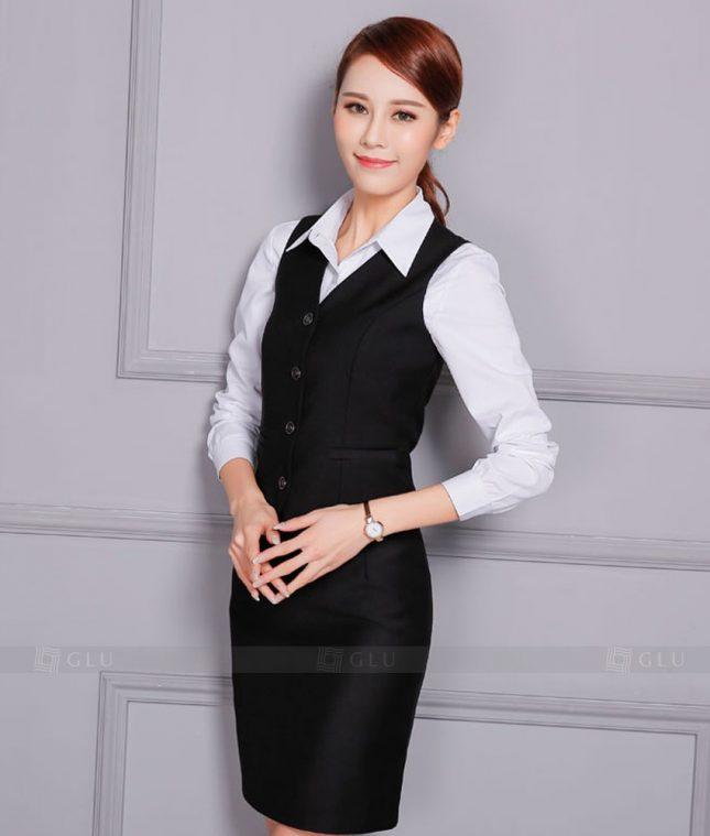 Ao Vest Dong Phuc Cong So GLU 368 áo sơ mi nữ đồng phục công sở