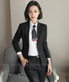 Ao Vest Dong Phuc Cong So GLU 369 Đồng Phục Công Sở