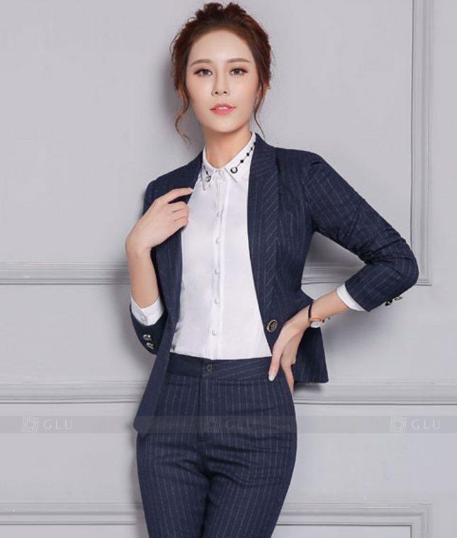 Ao Vest Dong Phuc Cong So GLU 372 áo sơ mi nữ đồng phục công sở