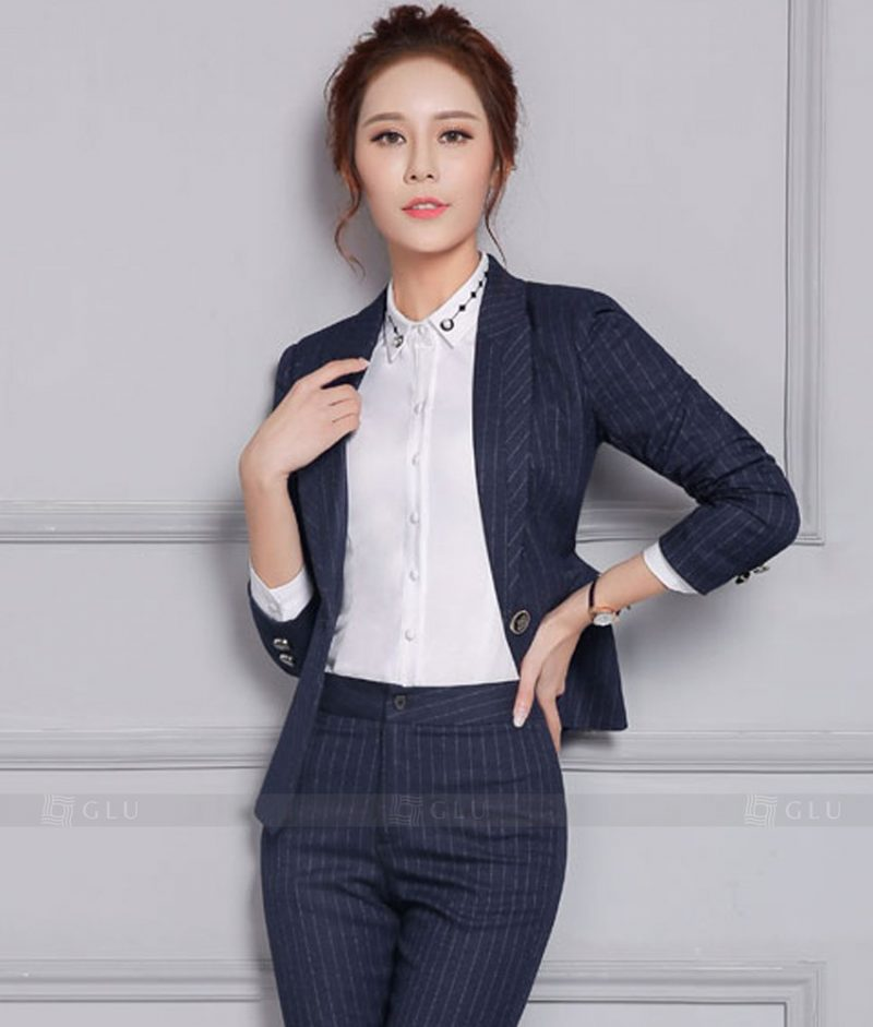 Ao Vest Dong Phuc Cong So GLU 372