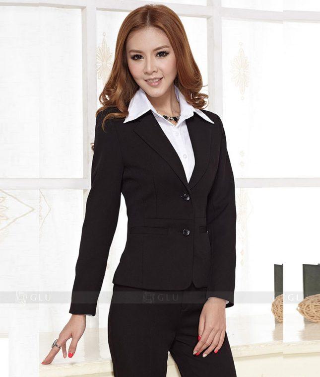 Ao Vest Dong Phuc Cong So GLU 385 áo sơ mi nữ đồng phục công sở