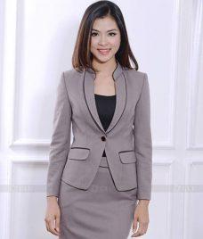 Ao Vest Dong Phuc Cong So GLU 390 Đồng Phục Công Sở