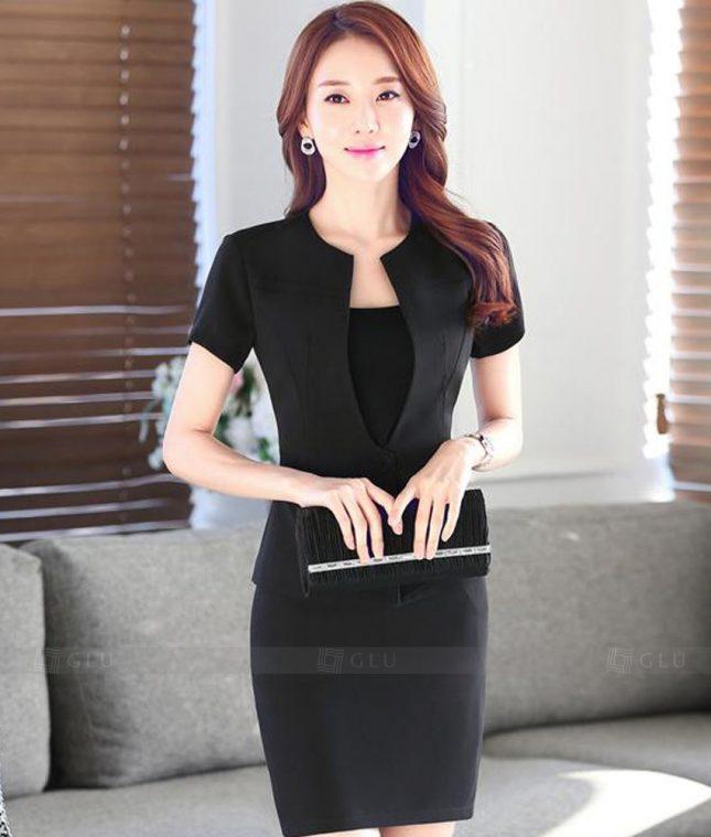 Ao Vest Dong Phuc Cong So GLU 396 áo sơ mi nữ đồng phục công sở