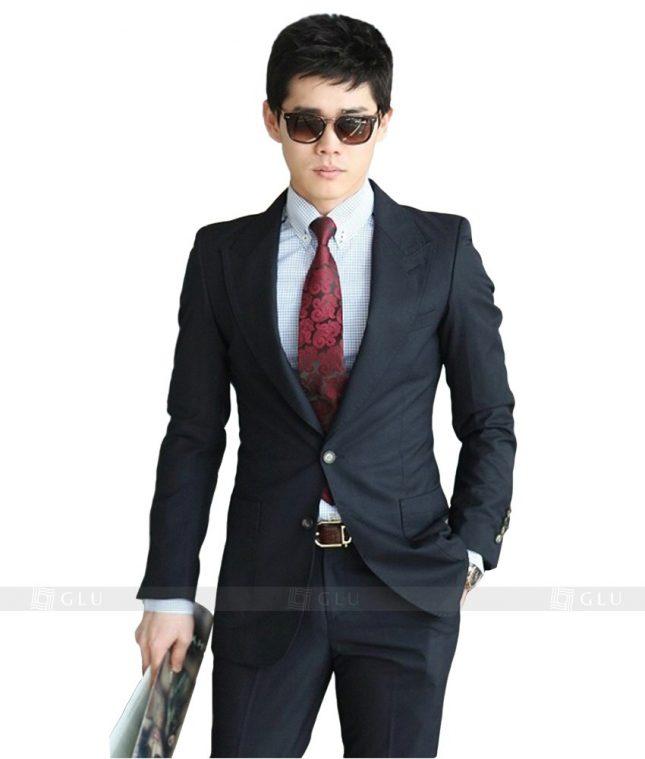 Ao Vest Dong Phuc Cong So GLU 44 đồng phục công sở nam
