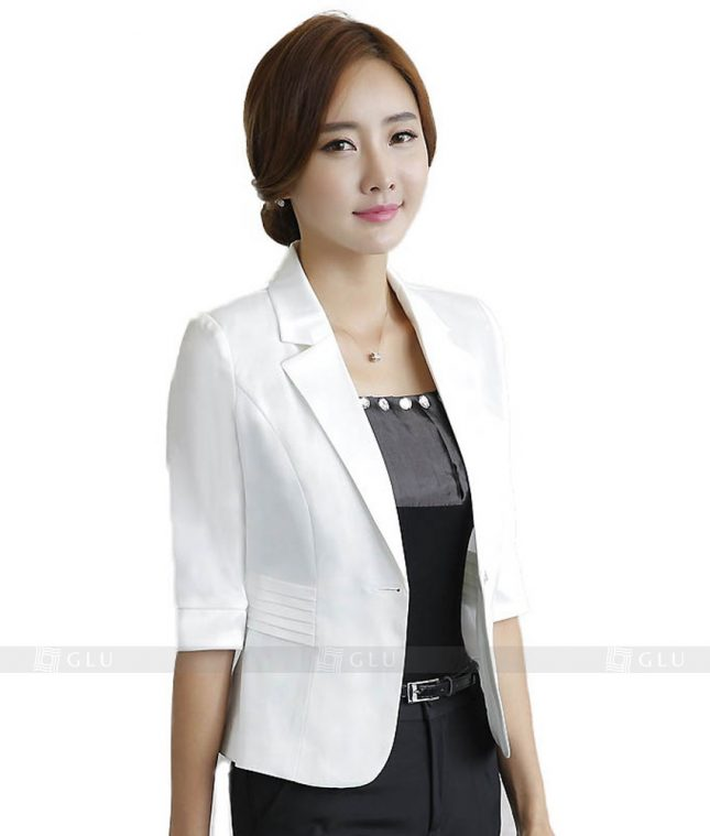 Ao Vest Dong Phuc Cong So GLU 76 đồng phục công sở nam