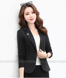 Ao Vest Dong Phuc Cong So GLU 87 Đồng Phục Công Sở