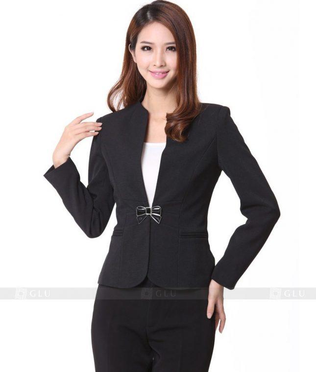 Ao Vest Dong Phuc Cong So GLU 91 áo sơ mi nữ đồng phục công sở