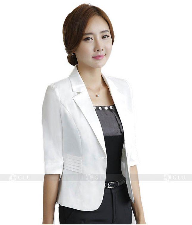Ao Vest Dong Phuc Cong So GLU 93 áo sơ mi nữ đồng phục công sở