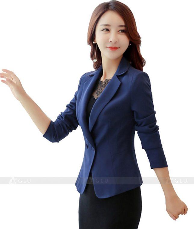 Ao Vest Dong Phuc Cong So GLU 94 áo sơ mi nữ đồng phục công sở