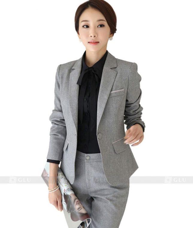 Ao Vest Dong Phuc Cong So GLU 95 áo sơ mi nữ đồng phục công sở