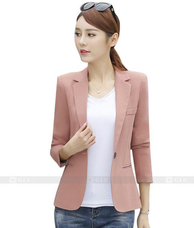 Ao Vest Dong Phuc Cong So GLU 96 áo sơ mi nữ đồng phục công sở