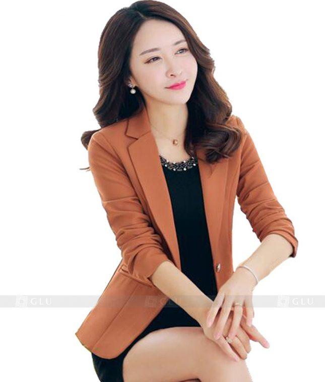 Ao Vest Dong Phuc Cong So GLU 97 áo sơ mi nữ đồng phục công sở