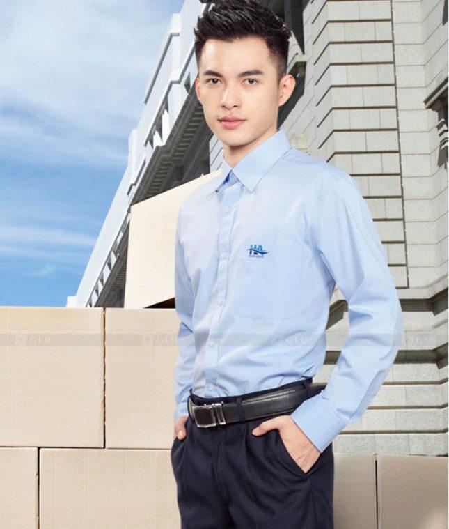 Dong Phuc Cong So Nam GS569 đồng phục công sở nam