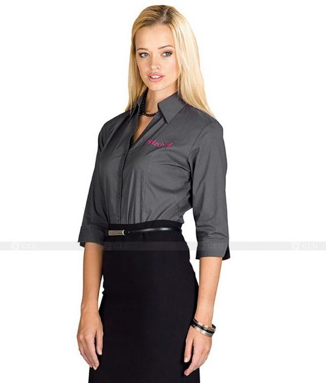 Dong Phuc Cong So Nu GS100 áo sơ mi nữ đồng phục công sở