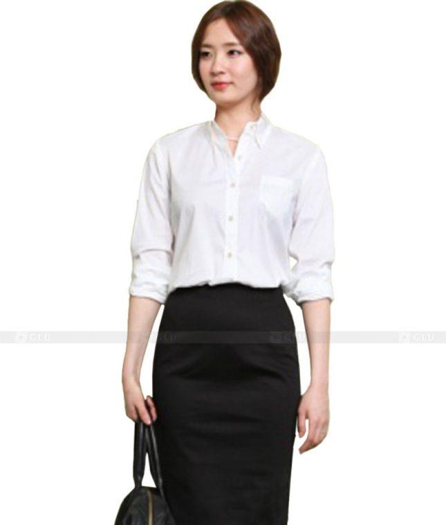 Dong Phuc Cong So Nu GS152 áo sơ mi nữ đồng phục công sở