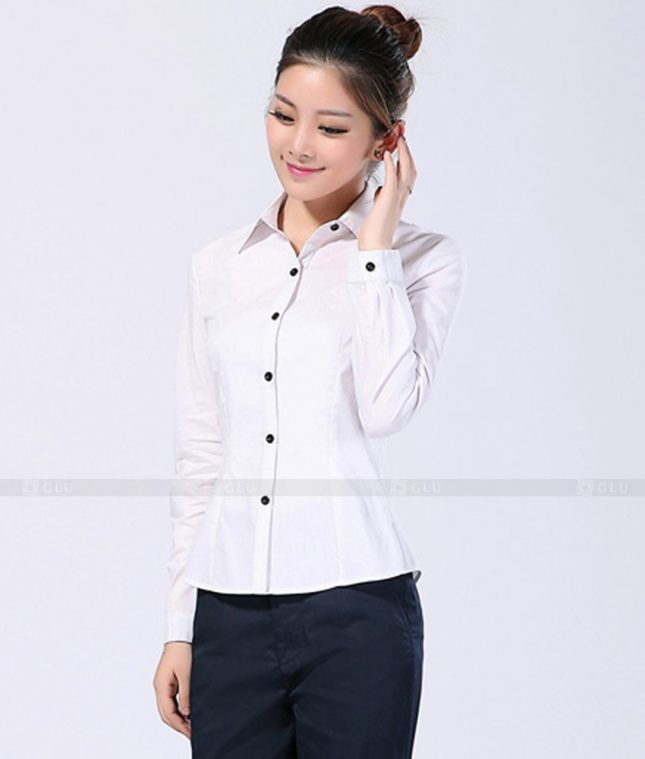 Dong Phuc Cong So Nu GS257 áo sơ mi nữ đồng phục công sở
