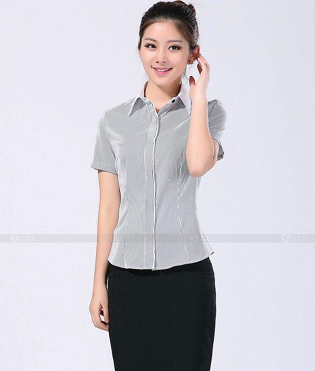 Dong Phuc Cong So Nu GS258 áo sơ mi nữ đồng phục công sở