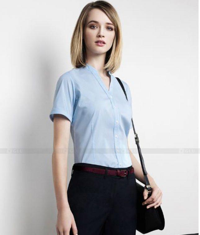 Dong Phuc Cong So Nu GS263 áo sơ mi nữ đồng phục công sở