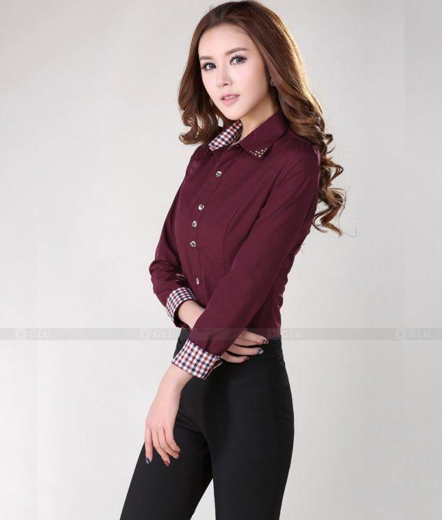 Dong Phuc Cong So Nu GS276 áo sơ mi nữ đồng phục công sở