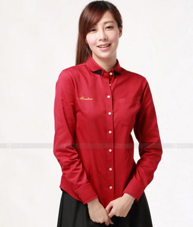 Dong Phuc Cong So Nu GS278 áo sơ mi nữ đồng phục công sở