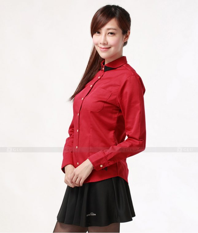 Dong Phuc Cong So Nu GS279 áo sơ mi nữ đồng phục công sở