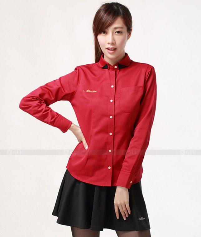 Dong Phuc Cong So Nu GS280 áo sơ mi nữ đồng phục công sở