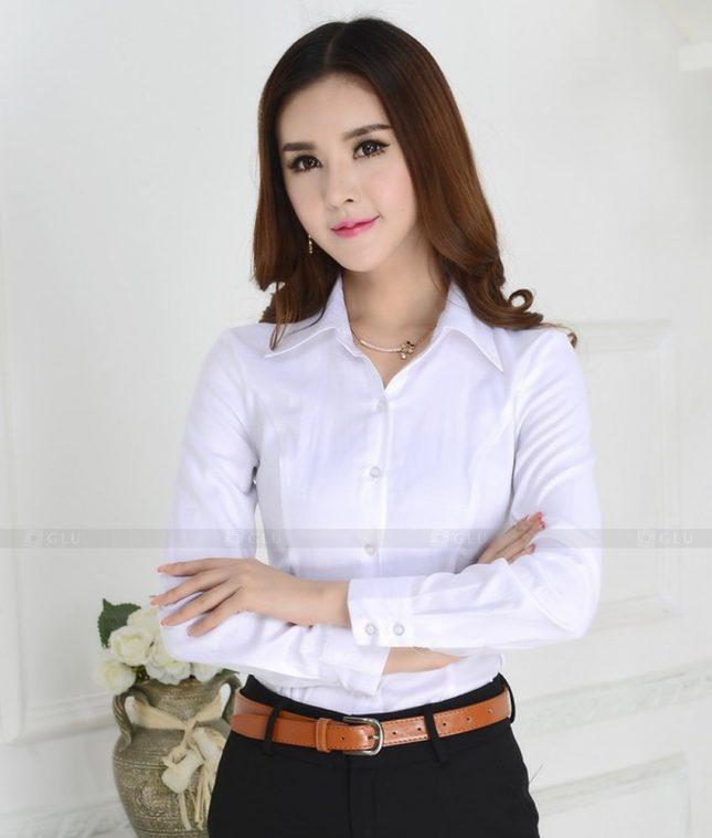 Dong Phuc Cong So Nu GS299 áo sơ mi nữ đồng phục công sở