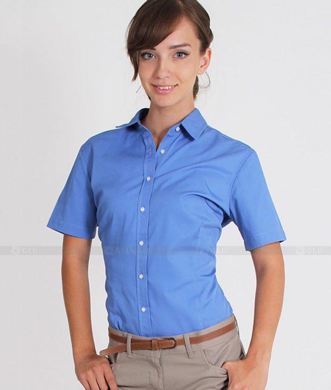Dong Phuc Cong So Nu GS301 áo sơ mi nữ đồng phục công sở
