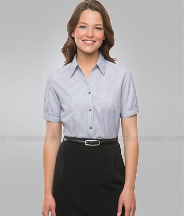 Dong Phuc Cong So Nu GS306 áo sơ mi nữ đồng phục công sở