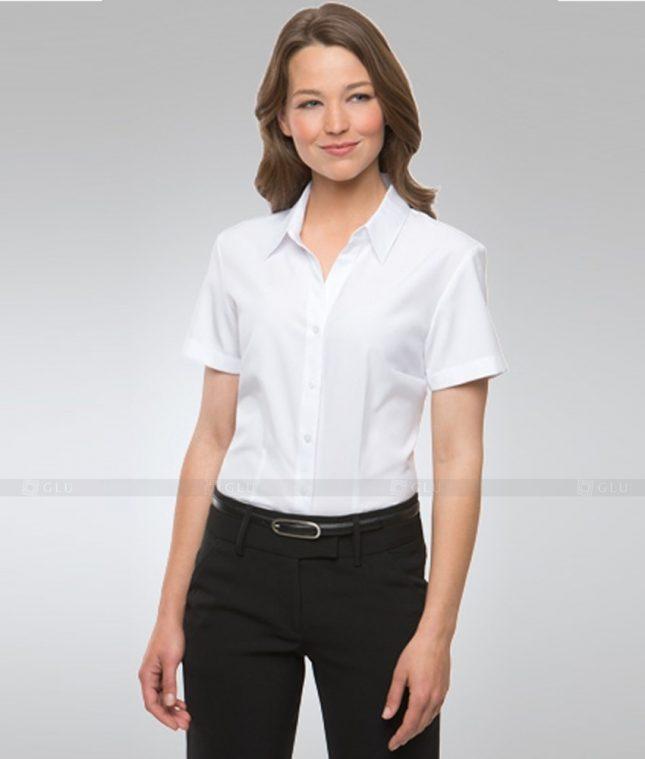 Dong Phuc Cong So Nu GS320 áo sơ mi nữ đồng phục công sở